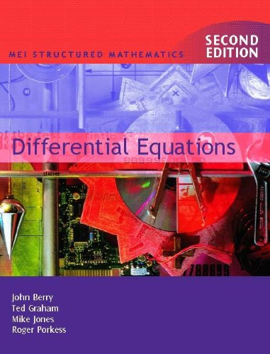 Differential Equations By Mike Jones