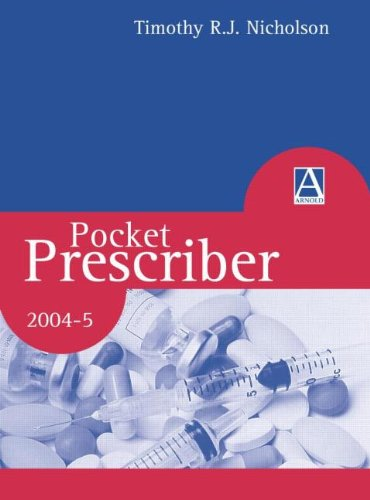 Pocket Prescriber By Timothy R. J. Nicholson