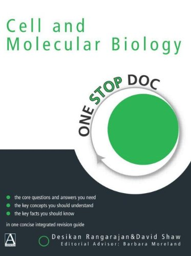 One Stop Doc Cell and Molecular Biology By Desikan Rangarajan