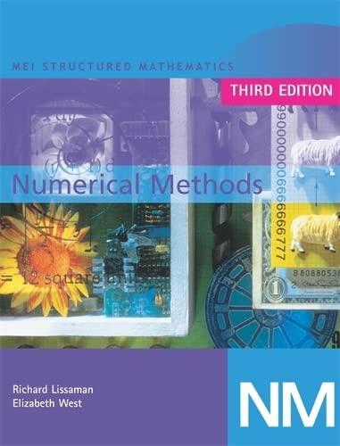 MEI Numerical Methods 3rd Edition By Elizabeth West