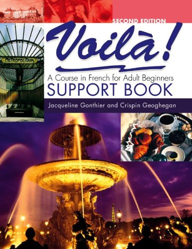 Voila: Support Book EX-DIRECTORY By Crispin Geohegan