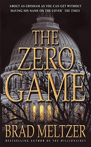 The Zero Game By Brad Meltzer