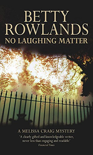 No Laughing Matter By Betty Rowlands