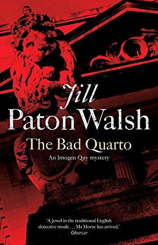 The Bad Quarto By Jill Paton Walsh