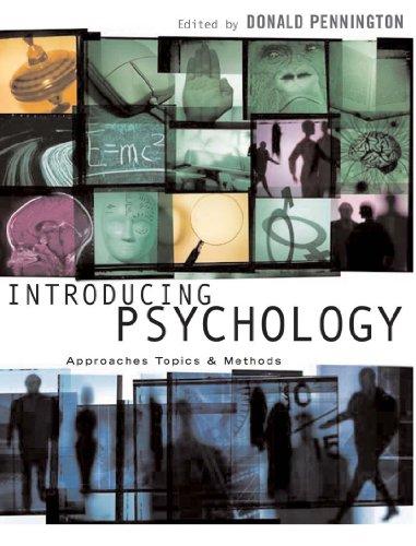 Introducing Psychology By Donald C. Pennington