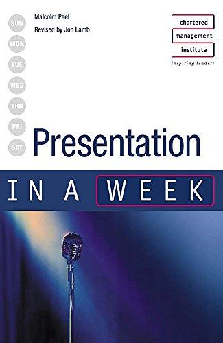 Presentation in a week 3rd edition By Malcolm Peel