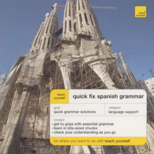 Teach Yourself Quick Fix Spanish Grammar By Keith Chambers