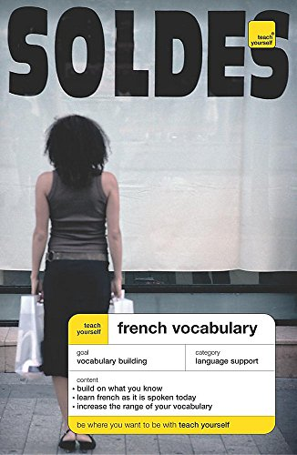 Teach Yourself French Vocabulary By Nelly Moysan