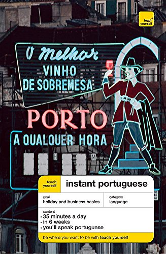 Teach Yourself Instant Portuguese Book & Cassette Pack By Elisabeth Smith