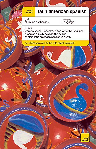 Teach Yourself Latin American Spanish Book/Double CD Pack By Juan Kattan-Ibarra