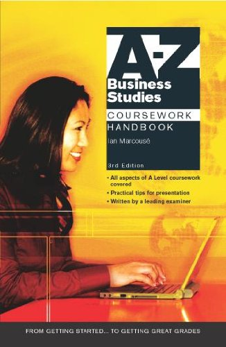 A-Z Business Studies Coursework Handbook By Ian Marcouse