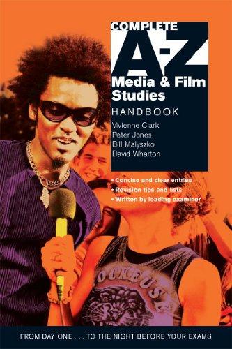 Complete A-Z Media and Film Studies Handbook By Vivienne Clark