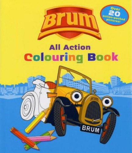 All Action Colouring Book By Illus By Stuart Trotter