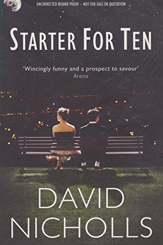 Starter for Ten Proof By Nicholls David