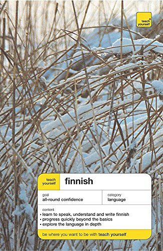 Teach Yourself Finnish (New Edition), book By Terttu Leney