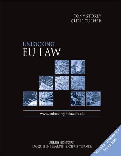 Unlocking EU Law By Chris Turner