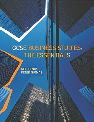 GCSE Business Studies By Peter Thomas