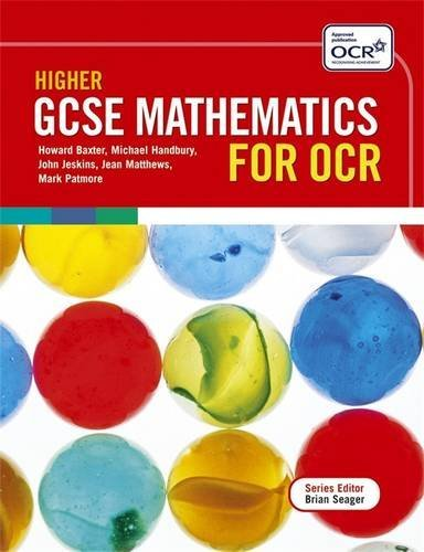 Higher GCSE Mathematics for OCR Two Tier Course By Mark Patmore