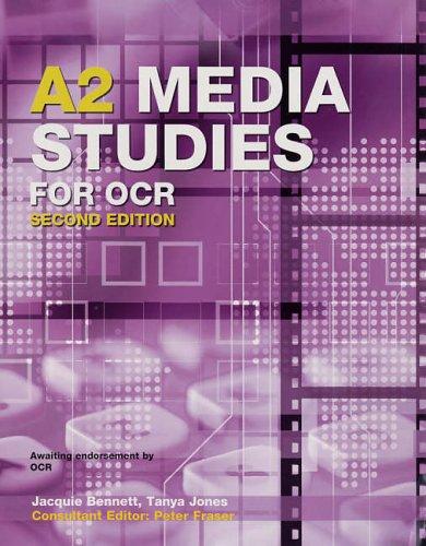 A2 Media Studies for OCR By Tanya Jones