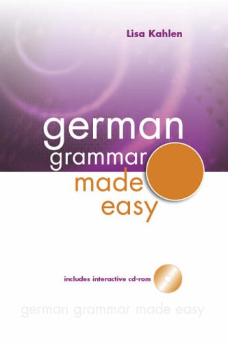 German Grammar Made Easy By Lisa Kahlen