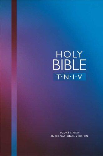 TNIV Personal Hardback, Blue (Bible Tniv) By International Bible Society