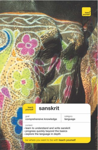 Teach Yourself Sanskrit By Michael Coulson