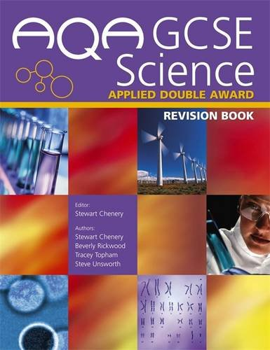 AQA GCSE Science Applied Double Award By Stewart Chenery