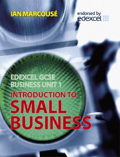 Edexcel GCSE Business By Ian Marcouse