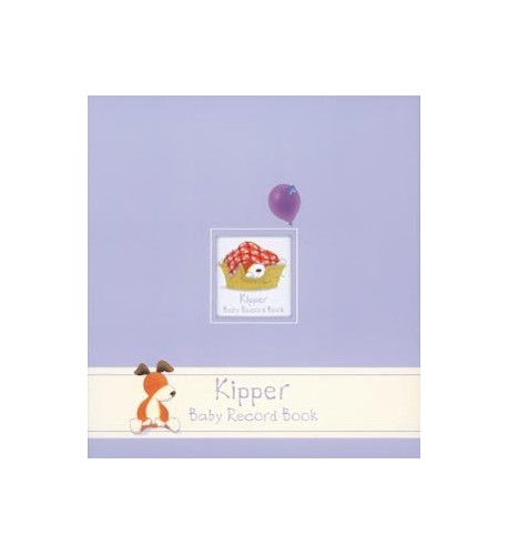 Kipper Baby Record Book By Mick Inkpen