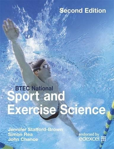 BTEC National Sport and Exercise Science By Jennifer Stafford-Brown