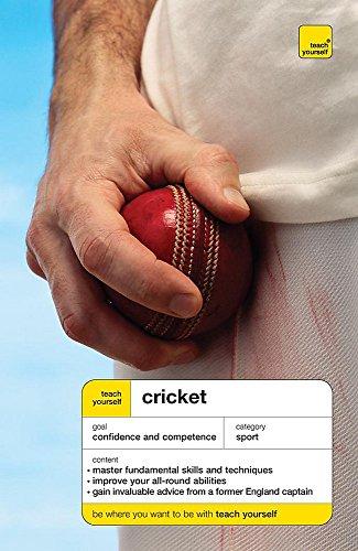 Teach Yourself Cricket By Mark Butcher