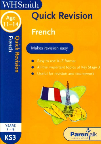 Quick Revision KS3 French By Caroline Woods