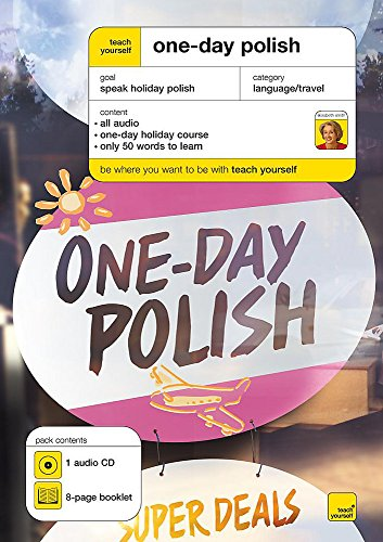 Teach Yourself One-day Polish (CD + 8-page booklet)