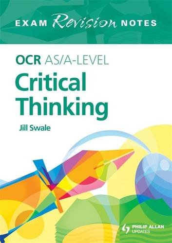 ocr critical thinking teaching resources Buy ocr a level critical thinking student book teaching and school resources this student book is tailored to the new ocr specification.