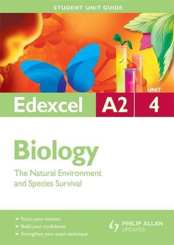 Edexcel A2 Biology Student Unit Guide By Mary Jones
