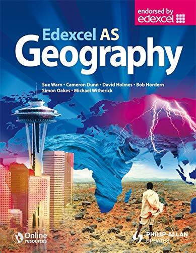 Edexcel AS Geography Textbook By Sue Warn