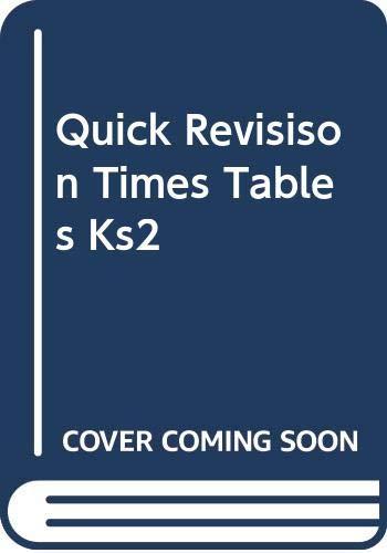 Quick Revisison Times Tables Ks2