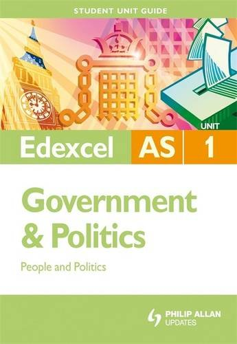 Edexcel AS Government and Politics By Chris Robinson