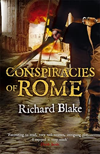Conspiracies of Rome (Death of Rome Saga Book One) By Richard Blake