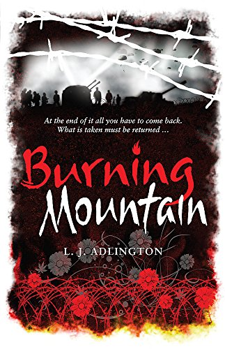 The Burning Mountain By L. J. Adlington