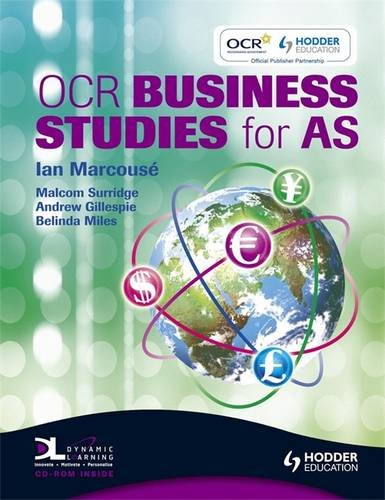 OCR Business Studies for AS By Ian Marcouse