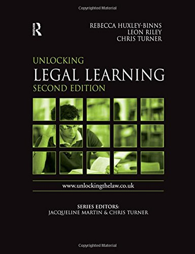 Unlocking Legal Learning By Rebecca Huxley-Binns