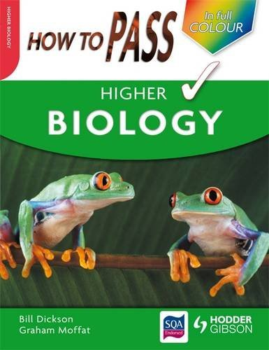 How to Pass Higher Biology by Billy Dickson