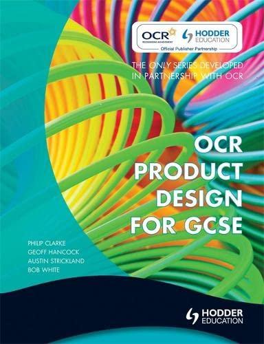 OCR Product Design for GCSE By Austin Strickland