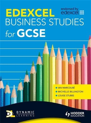 Edexcel Business Studies for GCSE By Ian Marcouse