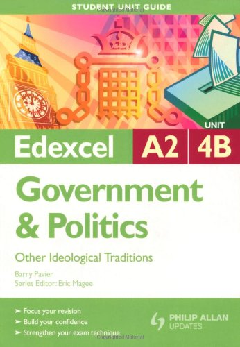 Edexcel A2 Government and Politics By Barry Pavier