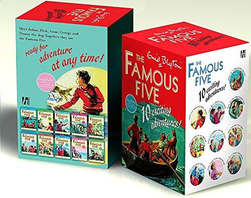 Famous Five Classic Edition B Format 10 Copy Slipcase SPECIAL SALE von Enid Blyton