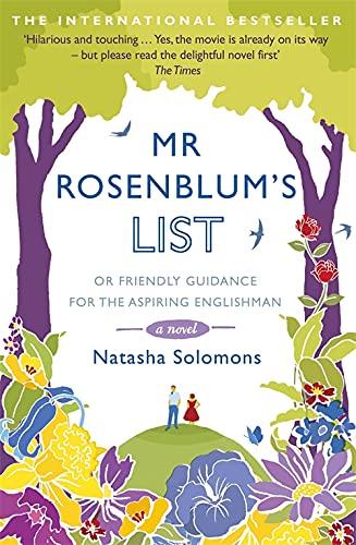 Mr. Rosenblum's List: Or Friendly Guidance for the Aspiring Englishman by Natasha Solomons