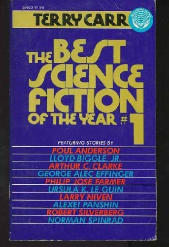 Best Science Fiction of the Year By Edited by Terry Carr