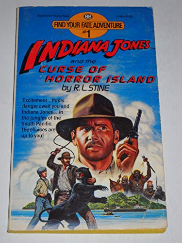 Ind Jones & Curse Horr By Stine, PH.D., R.L. Megan Megan R.L. R.L.